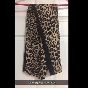 Torrid Leopard Leggings